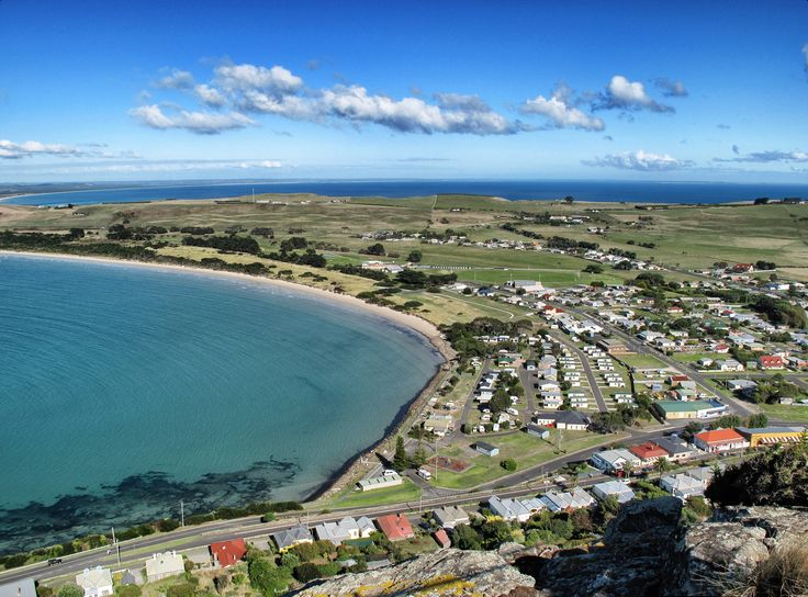 "Stanley, Tasmania - Taking From Chairlift On side of the ""The Nut"""