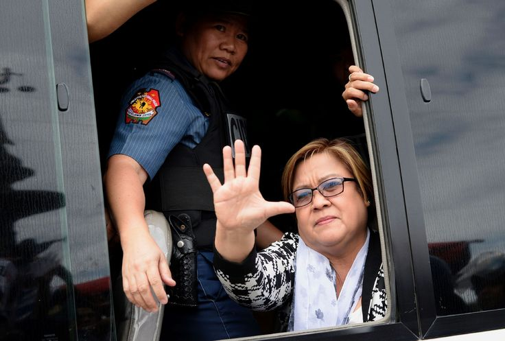 Wonder who will be tRump's first revenge arrest?-  The Philippine senator has led the fight against Rodrigo Duterte's war on drugs. She was arrested on Friday on charges of drug trafficking.