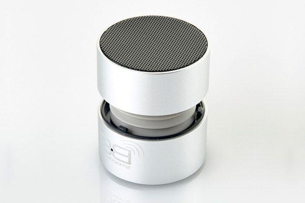 BassBoomz Cinza, coluna portátil bluetooth | 44,75€