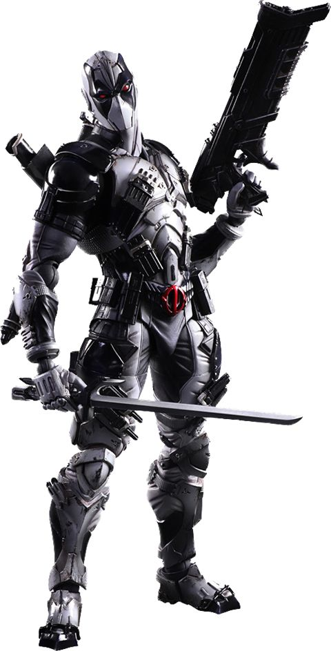 Deadpool X-Force Version Collectible Figure