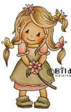 *NEW* Bildmalarna - Mimosa -butterfly hair