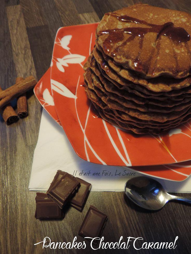 Pancakes Chocolat Caramel