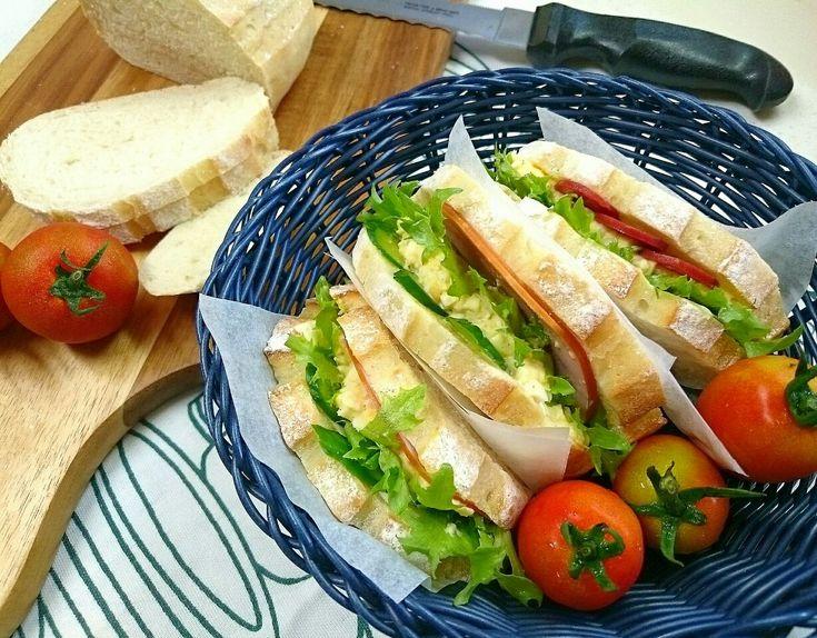 sakurako's dish photo 山本真希さんのりんご酵母種でミルクハース  我が家はヨーグルト酵母ですが | http://snapdish.co #SnapDish #レシピ #サンドイッチ #テーブルブレッド