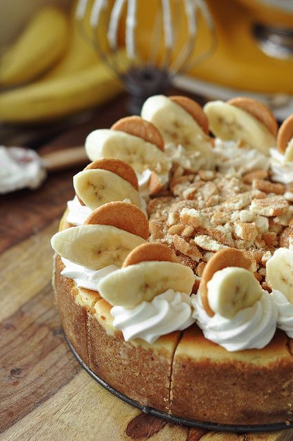 Bourbon Banana Pudding Cheesecake   The Candid Appetite