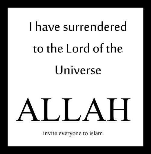Allah is the only true God
