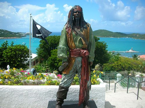 Blackbeard's Castle, St Thomas Island, US Virgin Islands.