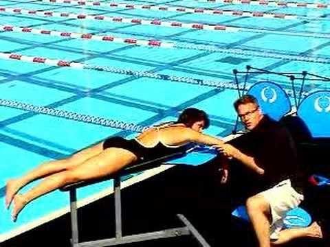 High Elbow Catch Training with Olympian Sheila Taormina - YouTube