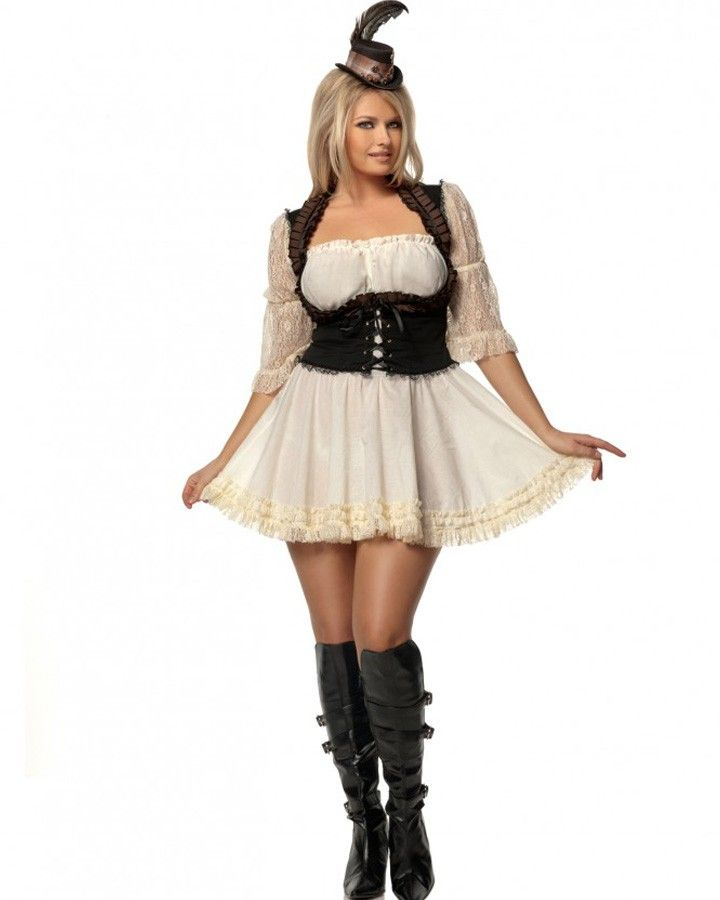 steampunk lady womens plus size costume halloween2013 plussize - Halloween Costume Plus Size Ideas