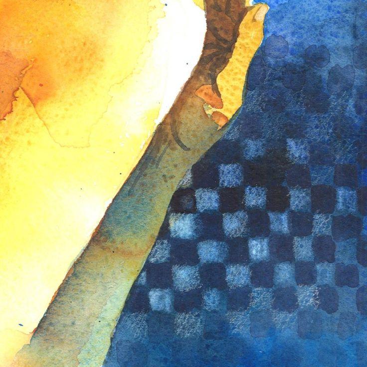 Bellezze al bagno (2015) Watercolor by Alessandro Andreuccetti | Artfinder