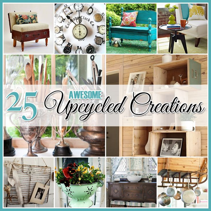 17 best images about diy home decor on pinterest the for Best upcycled projects