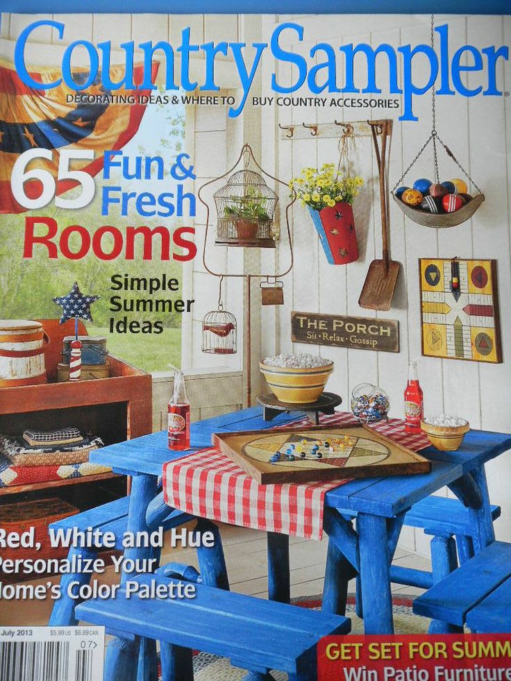 59 best Country Sampler Magazine  images on Pinterest  Country sampler magazine Country style