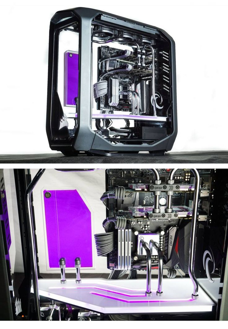 'Frozen Grey' by twister7800gtx looks to be an extremely difficult build with an almost completely clear case putting all hardware in full view with no where to hide your wires! Awesome job!