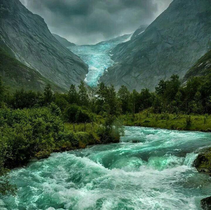 Briksdale Glacier, Norway