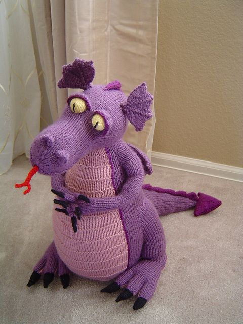 Ravelry: Devilish Dragon pattern by Alan Dart  - $5.00