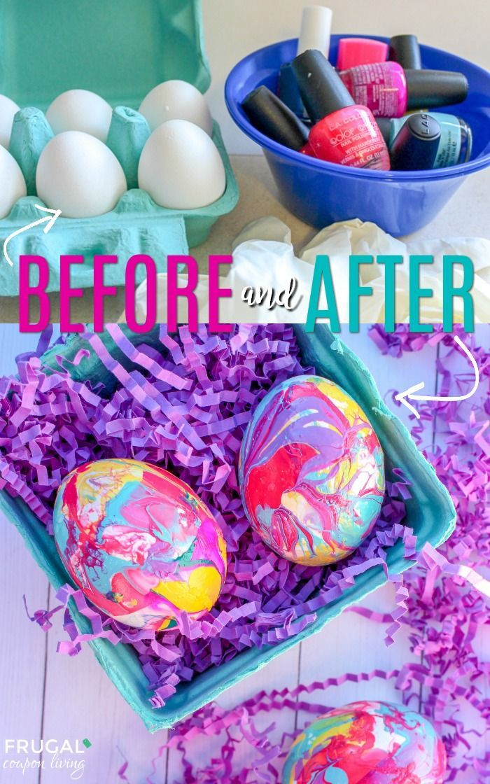 How To Make Marbled Easter Eggs Easter Eggs Pinterest Crafts Diy Candles