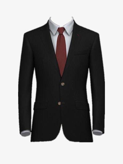 Black Suit Men S Tops Men S Clothing Suit Png