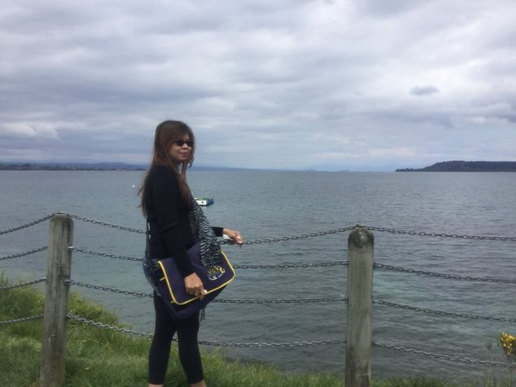 By the Great Lake Taupo, Taupo, New Zealand