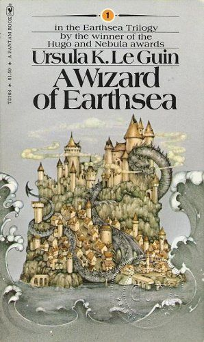 "#Books ""A Wizard of Earthsea"" by Ursula K Leguin"