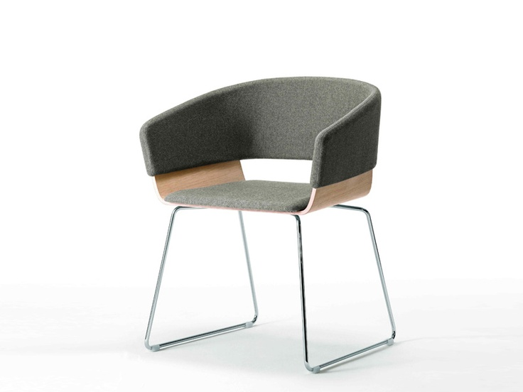 Waiting Chair with Armrests HIMA - Lamm