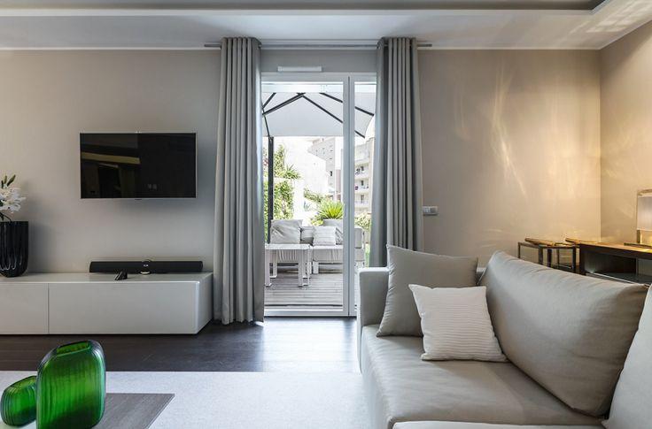 Monaco Private Apartment Living Room