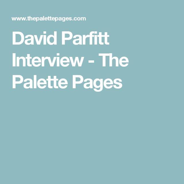 David Parfitt Interview - The Palette Pages