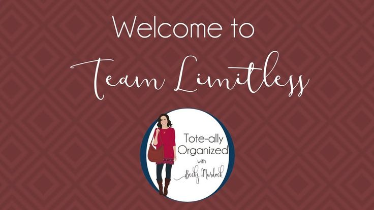 Welcome video for Team Limitless Thirty-One consultants. Brief overview of resources available to help start business strong. Find me on Facebook fb.com/beckymurdockID