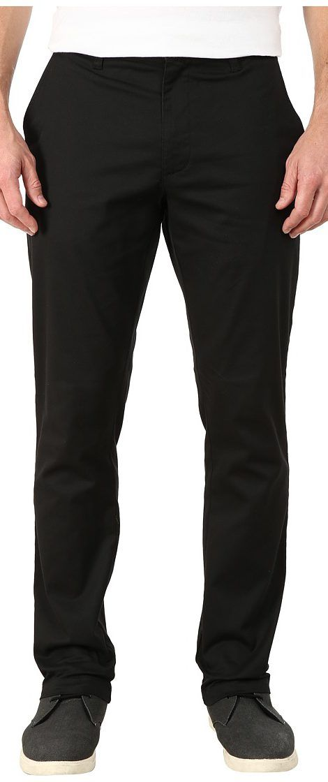 RVCA The Week-End Stretch Pants (Black) Men's Casual Pants - RVCA, The Week-End Stretch Pants, MC303WST-001, Apparel Bottom Casual Pants, Casual Pants, Bottom, Apparel, Clothes Clothing, Gift - Outfit Ideas And Street Style 2017