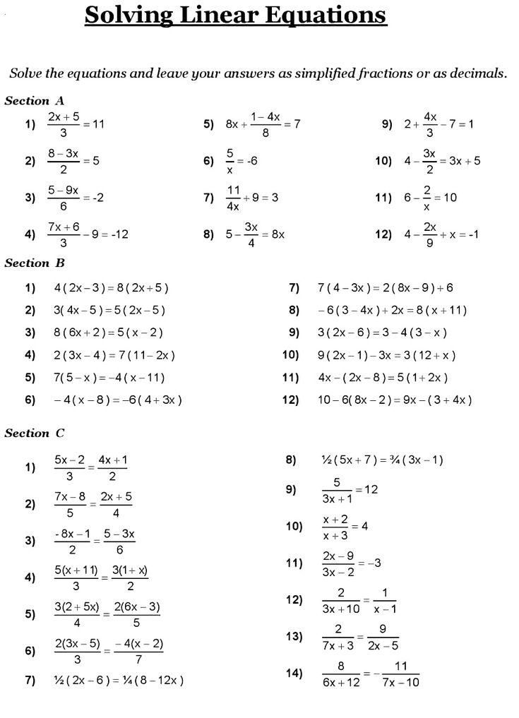 8th Grade Math Problems in 2020   8th grade math, Math ...