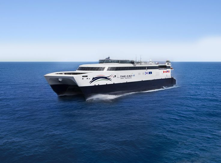 The CAT is back! Service between Portland, Maine and Yarmouth, Nova Scotia starts summer 2016.