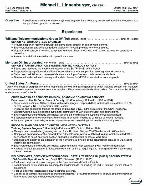 Computer Information Systems Resume Unique Resumes And Cover Letters