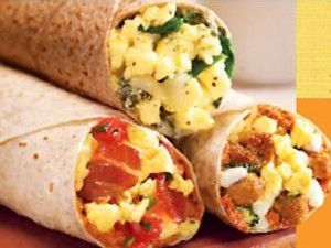 High-Protein Breakfasts to Curb Cravings! Here's a week's worth of ideas: Breakfast burritos, oatmeal with greek yogurt, protein pancakes and more!