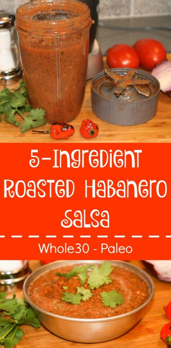 The fresh, flavorful salsa is easy to make and requires only five ingredients: tomatoes, habanero peppers, onion, cilantro and salt.