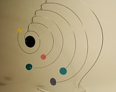 Modern Table Top Stabile Mobile Art Universe One of a Kind http://www.etsy.com/search_results.php?search_type=handmade_query=calder+mobile=1