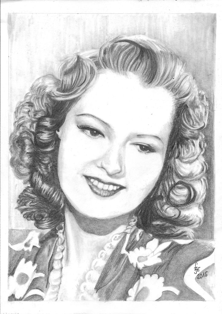Pencil drawing portrait Szeleczki Zita by Erika Székesvári  https://www.facebook.com/ercziart/