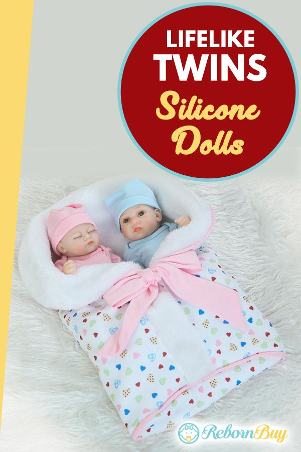 10 Inches Cheap Full Body Silicone Reborns Reborn Baby Twins Dolls In 2020 Twin Dolls Baby Dolls Twin Babies