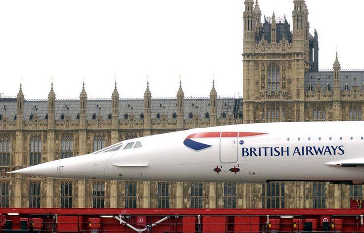 Concorde British airways #travel #alookat #airlines