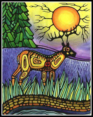 Ayla Bouvette, Native American Metis Artist