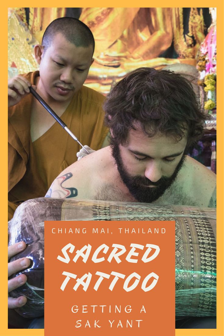 Everything you need to know about getting a Sak Yant tattoo in Chiang Mai, Thailand. Getting this sacred tattoo from a Buddhist monk is one of the best things to do in Chiang Mai. How much it costs, where to get it and how to book your Sak Yant in Thailand.