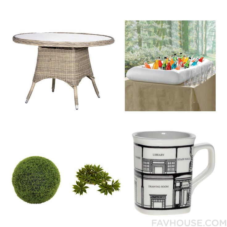 Decor Goods Featuring Outdoor Table Ice Chest Dot & Bo Drinkware And Modern Home Decor From August 2016 #home #decor