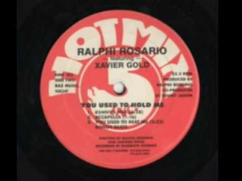 Ralphi Rosario - You Used To Hold Me (1987)    Man.. the memories to this one.