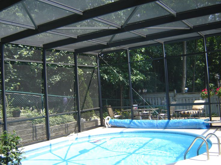 A Retractable Enclosures for pool can also keep a pool much cleaner. Screens let in breezes and warmth, but also keep against dirt and debris. Leaves, twigs and grasses stay out of the swimming pool, reducing the amount of time an owner spends keeping a pool clean. http://www.automaticpoolenclosure.com/