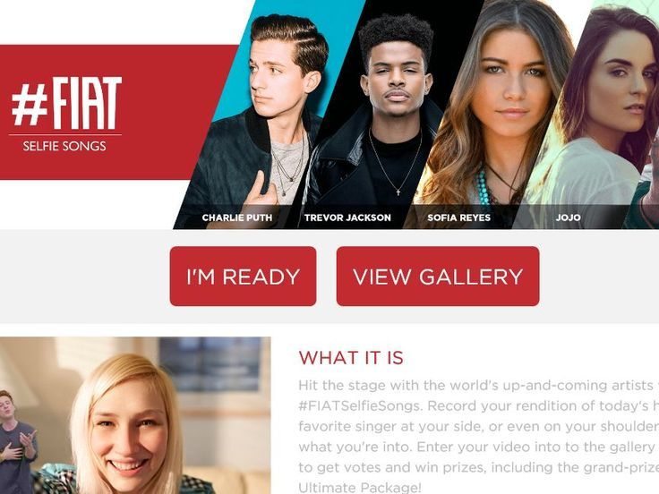 Enter the #FIAT Selfie Songs Sweepstakes for a chance to win a Beats Pill+ and a pair of Beats Solo Headphones!