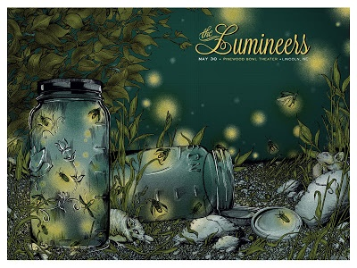 Lumineers-Lincoln-Erica-Williams-Poster