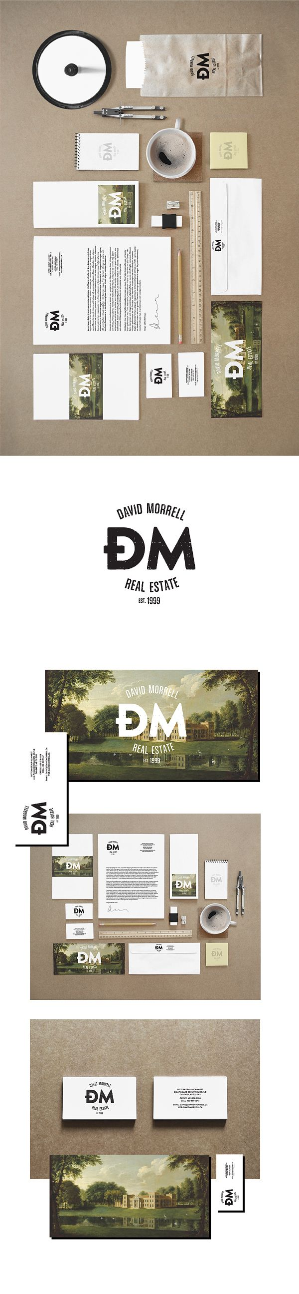 David Morell - Real Estate Agent by Zdunkiewicz , via Behance