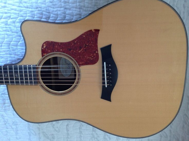 #guitar Taylor Guitar 710ce L-9 Recently Refretted, Neck Reset and New Expression System please retweet