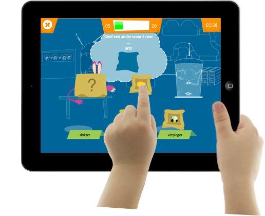 Beter leren omgaan met taal met de iPad app Brutaal