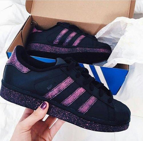 Imagen de adidas, shoes, and black