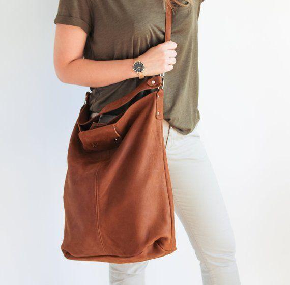 62bc28cc26689 Oversize Shopper Bag, Large Shopper, Leather Tote Bag, Shopper Bag, XXL  Handbag