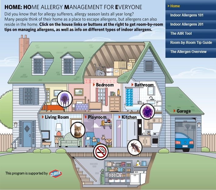 Home Allergy Management For Everyone | ACAAI: Great information for people that suffer from a severe dust mite allergy, like me!