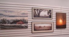 Loren Younggren, Hallock--Photography NWMAC Featured Artist at River Walk Artists Gallery in East Grand Forks. 'Kittson County Scene'